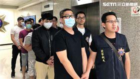 警方破獲以徐姓男子為首的販毒集團,「喜劇小王子」林東緒亦因持有大麻遭逮(楊忠翰攝)