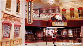 Hello Kitty Red Carpet美式餐廳,凱蒂貓,主題餐廳。(圖/威秀集團提供)