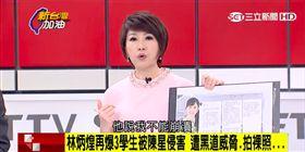 廖筱君轉述林炳煌:我不能崩潰,因為我還要保護活著的人。(圖/翻攝新台灣加油)