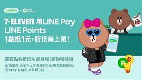 消費免花錢!LINE Pay開通7-11線下點數折抵