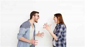 吵架、爭執、爭吵、情侶/達志影像/美聯社