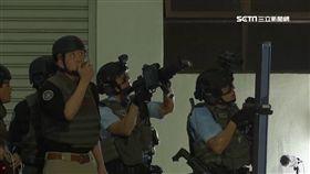 怕有刺客! 港警反恐演習迎接杜特蒂