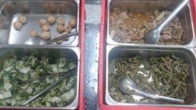 三民高中恐怖營養午餐(圖/翻攝自張文隆臉書)