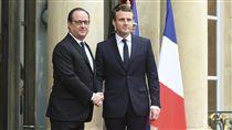 馬克宏就職法國總統_美聯社/達志影像