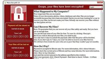 勒索病毒,勒索軟體,病毒發作畫面(圖/翻攝自BleepingComputer網頁)