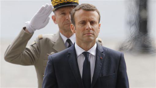 法國新任總統馬克宏(Emmanuel Macron)_美聯社/達志影像