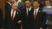 一帶一路國際合作高峰論壇,習近平,普丁_美聯社/達志影像