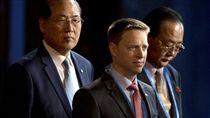 北韓對外經濟相(部長)金英才_美聯社/達志影像