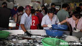 新竹,國內旅遊,香山,明發定置漁場,發哥,魚市場。(圖/記者簡佑庭攝)