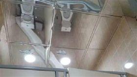 鏡子,反射,廁所,馬桶,公廁/爆料公社