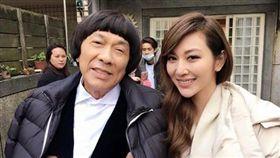 豬哥亮,曾莞婷 圖/翻攝自曾莞婷臉書