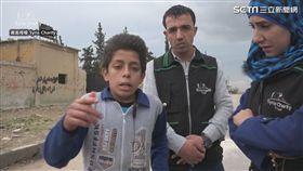 敘利亞少年發出沉重的告白。