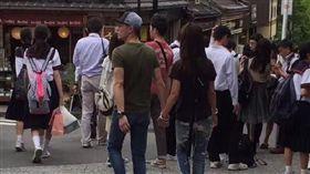 霍建華,林心如,京都,日本,放閃 圖/翻攝自這里是大阪微博 http://www.weibo.com/u/5883203913?is_hot=1#1494851542150