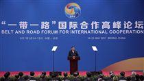 一帶一路國際合作高峰論壇,中國大陸,習近平(圖/美聯社/達志影像)