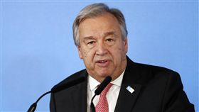 聯合國秘書長古特瑞斯(Antonio Guterres)(圖/美聯社/達志影像)