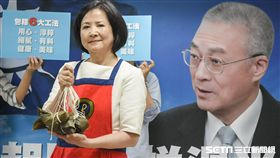吳敦義夫人包粽子,國民黨黨主席選舉 圖/記者林敬旻攝