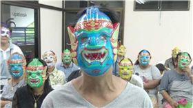 泰國,醫院,面具,子宮頸抹片,檢查, Nong Krot 圖/翻攝自泰國星暹傳媒微博
