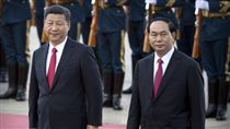 陳大光,越南,主席,中國大陸,習近平,一帶一路高峰會 圖/美聯社/達志影像