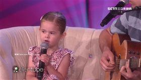 4歲歌姬! 女童與父飆歌.再登艾倫秀