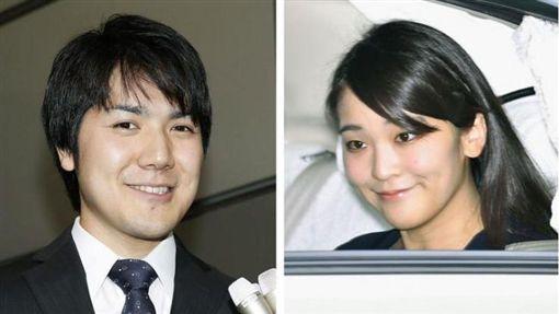 小室圭,真子公主,日本皇室 圖/共同社提供/中央社