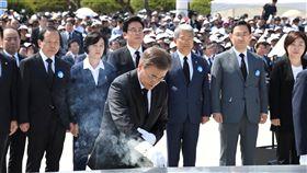 南韓總統文在寅(圖/路透社/達志影像)