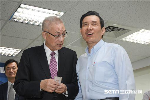 吳敦義與任內閣員有約,前總統馬英九出席。 圖/記者林敬旻攝