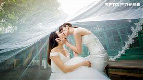 未婚男女,李京恬,程茉(圖/同志尚典攝影工作站提供)