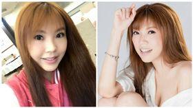 劉樂妍入住陸飯店遭拒 竟直接睡門口 圖/翻攝自劉樂妍臉書、微博