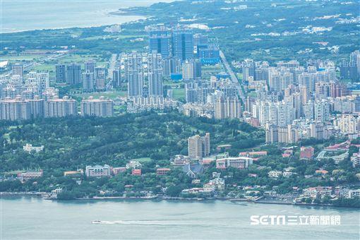 台北,淡水河,房地產,房價,地價,地皮 圖/記者林敬旻攝 ID-915114
