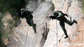 金防部兩棲偵查營漢光前演習 金防部提供
