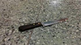 清水高中少年遭砍、水果刀(圖/翻攝畫面)