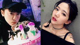 陳艾琳今晚於臉書宣布與前MP魔幻力量鼓手阿翔離婚。