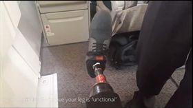 除非證明能跑能跳!截肢男遭航空公司要求換座位