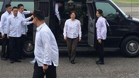 蔡總統澎湖視導漢光33號演習。(圖/記者盧冠妃攝影)