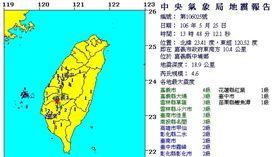 地震報告0525