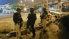 印尼雅加達公車站爆炸案(圖/美聯社/達志影像)