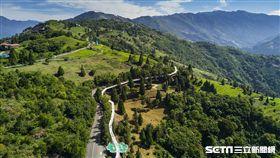 南投旅遊,清境天空步道,高空景觀步道。(圖/攝影師簡慶南提供)