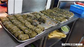 台北市衛生局指出,祥福餐廳「荷葉粉蒸排骨」使用有毒姑婆芋,依違反食安法開罰。(圖/台北市衛生局提供)
