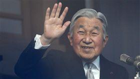 日本皇室、日本天皇明仁(圖/路透社/達志影像)
