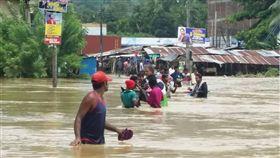 斯里蘭卡,雨季,豪雨,淹水,水患,土石流(https://twitter.com/leodarshan1/status/868414713364742145)