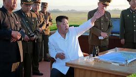 北韓又射彈1100