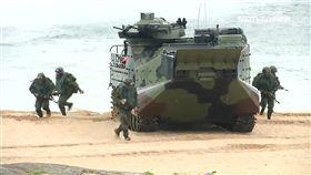 -AAV7兩棲突擊車-國軍-漢光演習-登陸-搶灘-