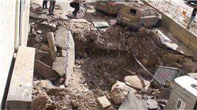 烏克蘭,基輔,地下水管,水管,爆炸,意外 圖/翻攝自YouTube