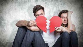 吵架、分手、心碎、情侶、爭吵/達志影像/美聯社