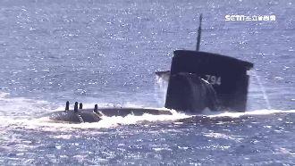睽違13年!劍龍級潛艦成功擊沉靶艦