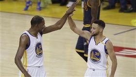 Kevin Durant,Stephen Curry,NBA總冠軍賽(ap)