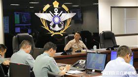 國防部災害應變中心則於下午1330時完成二級開設,總長李喜明上將要求各作戰區先期完成災害防救整備 國防部提供
