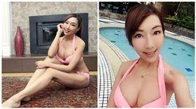 李宓(合成圖/翻攝自李宓臉書)