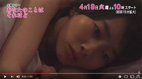 日劇《其實並不在乎你》▲圖/翻攝自TBS YouTube