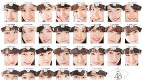 16:9 不是宅宅不敢穿!AKB48推新週邊 整張臉印在衣服上 圖/翻攝自vv__official Twitter https://twitter.com/vv__official/status/870612407424434180